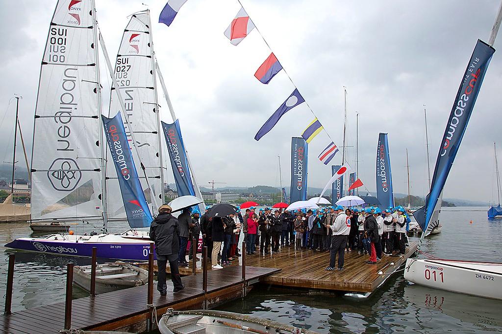 2016 Saisonauftakt des compasscup mit Bootstaufe Zürich