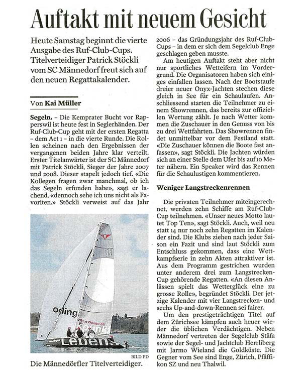 Tages-Anzeiger - 06.2009