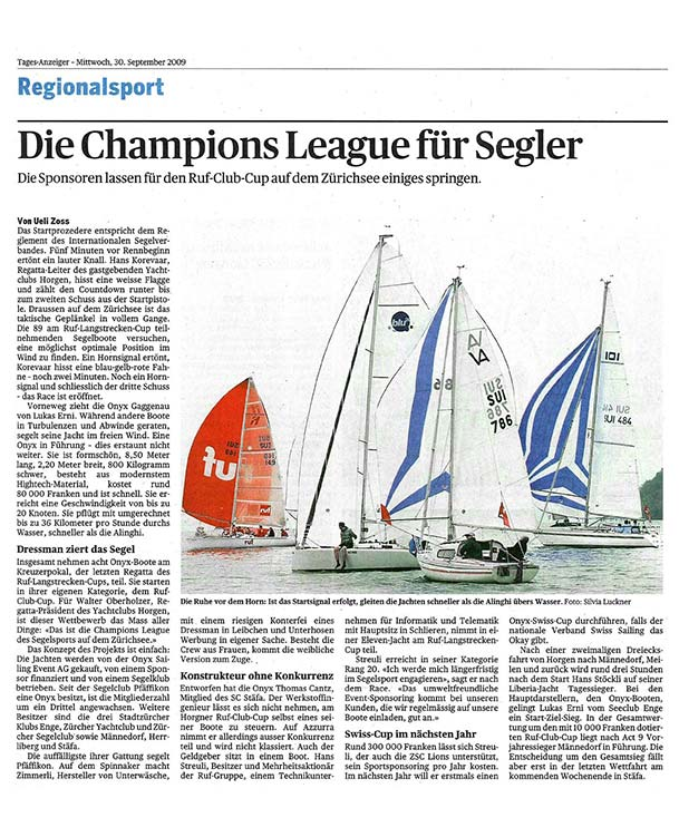 Tages-Anzeiger - 09.2009
