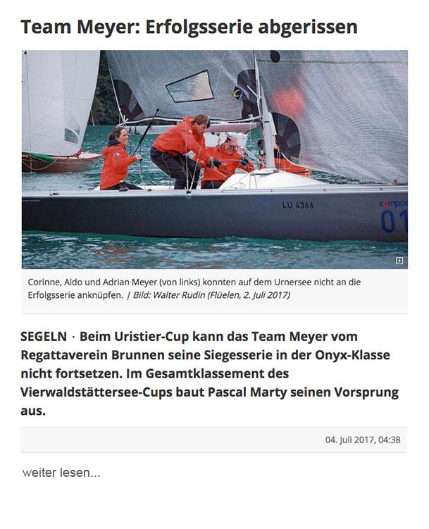 Luzerner Zeitung 07.2017