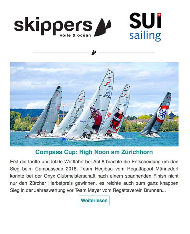 Skippers & SUI Sailing 09.2018